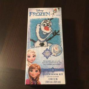 Other - Disney frozen latch hook kit